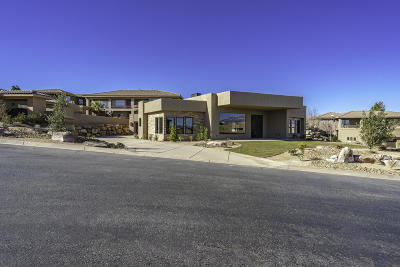 St George UT Single Family Home For Sale: $850,000
