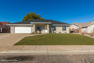 St George Single Family Home For Sale: 2367 E 130 N