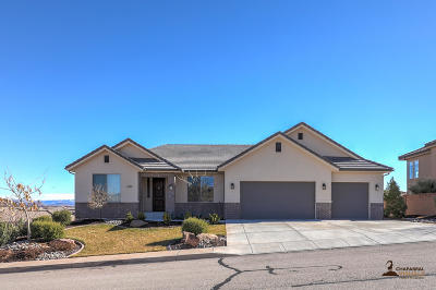 St George Single Family Home For Sale: 2201 S 1340 W