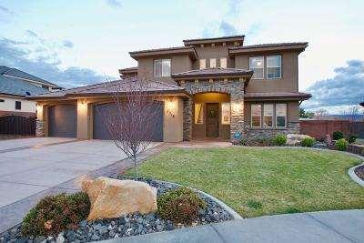 St George Single Family Home For Sale: 2518 E Lincoln Ln
