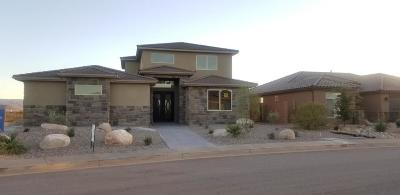 St George UT Single Family Home For Sale: $529,900