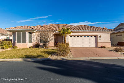 Ivins, Santa Clara, St George, Washington Single Family Home For Sale: 1692 Sunkissed Dr S