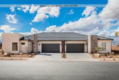 Ivins, Santa Clara, St George, Washington Single Family Home For Sale: 1208 W Wickham Dr