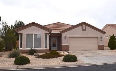 Ivins, Santa Clara, St George, Washington Single Family Home For Sale: 1685 Warm River Dr
