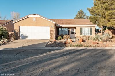 Ivins Single Family Home For Sale: 432 S 625 E
