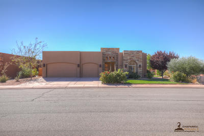 Hurricane Single Family Home For Sale: 3250 S Red Sands Way