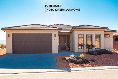 Washington Single Family Home For Sale: 800 Vacanza St #Lot 546