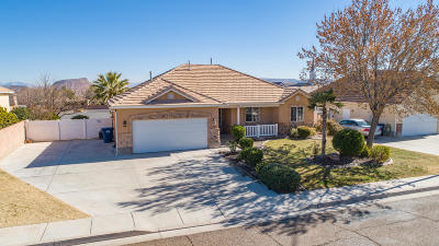 St George UT Single Family Home For Sale: $374,900
