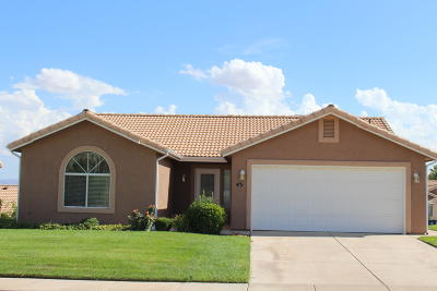 Ivins, Santa Clara, St George, Washington Condo/Townhouse For Sale: 210 N Mall Dr #43
