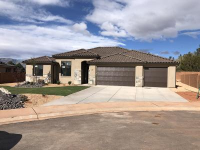 Ivins Single Family Home For Sale: 36 S 375 W