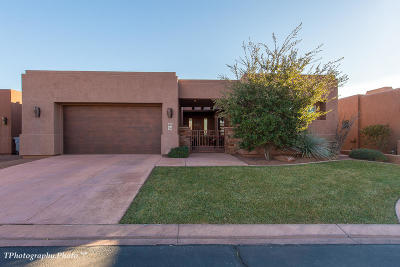 St George Single Family Home For Sale: 2085 N Tuweap Dr #54
