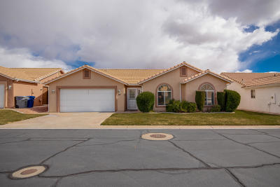 Ivins, Santa Clara, St George, Washington Single Family Home For Sale: 210 N Mall Dr #62