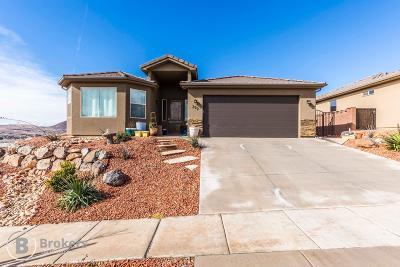 Hurricane Single Family Home For Sale: 299 N 725 W