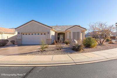 Ivins, Santa Clara, St George, Washington Single Family Home For Sale: 4397 S Sherwood Dr