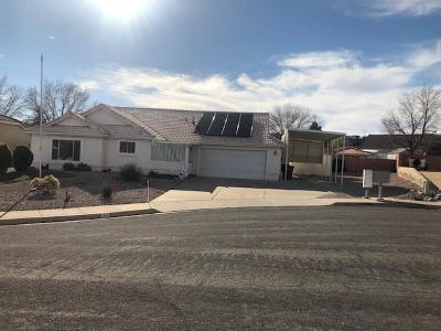St George Single Family Home For Sale: 99 N 2120 E Cir