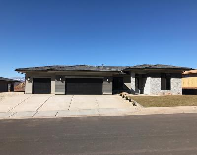 St George Single Family Home For Sale: 1629 Talus Way