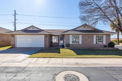 Ivins, Santa Clara, St George, Washington Condo/Townhouse For Sale: 1055 E 900 #1