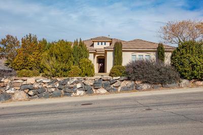 Hurricane Single Family Home For Sale: 3298 W 400 N