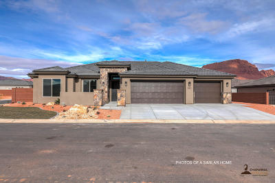 Ivins Single Family Home For Sale: 552 W Big Horn Way #Lot 12