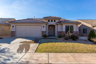 Ivins, Santa Clara, St George, Washington Single Family Home For Sale: 1361 Country Club Dr