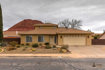 Ivins Single Family Home For Sale: 371 E 130 S