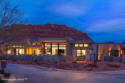 St George Single Family Home For Sale: 3052 N Snow Canyon Parkway #Lot #61