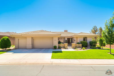 St George Single Family Home For Sale: 2151 W Monterey Dr