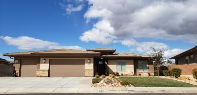 St George UT Single Family Home For Sale: $390,000