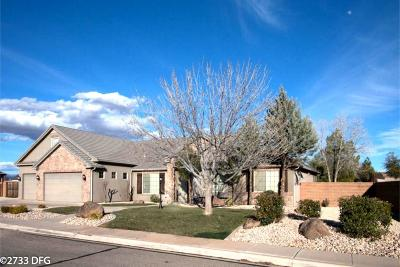 St George UT Single Family Home For Sale: $499,000