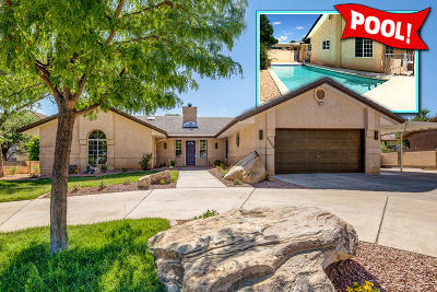 St George UT Single Family Home For Sale: $389,000