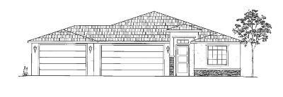Hurricane Single Family Home For Sale: 1806 W East Rim Ct