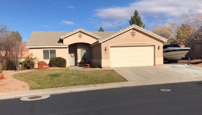 St George UT Single Family Home For Sale: $249,900