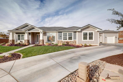 St George Single Family Home For Sale: 2476 S Franklin Cir