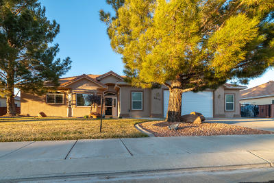 Hurricane Single Family Home For Sale: 2650 W 240 N