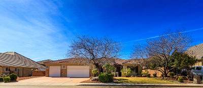 St George Single Family Home For Sale: 1864 S 2780 E