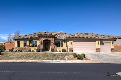 St George Single Family Home For Sale: 560 Shasta Dr