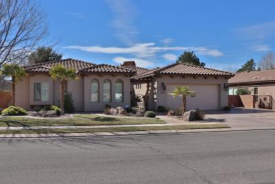 St George Single Family Home For Sale: 1295 W 500 S