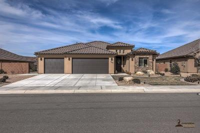 St George Single Family Home For Sale: 1166 W Riverstone Cir
