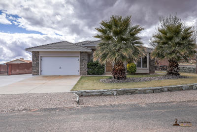 St George Single Family Home For Sale: 2065 W 5870 N