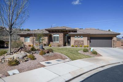 St George Single Family Home For Sale: 1151 S 1890 E Cir