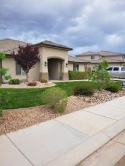 St George Single Family Home For Sale: 3516 Broken Mesa Dr