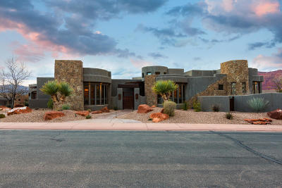 St George Single Family Home For Sale: 3052 Snow Canyon Parkway #232