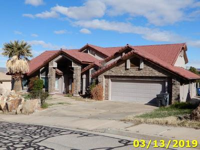St George Single Family Home For Sale: 446 Rolling Hills Dr