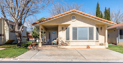Washington Single Family Home For Sale: 180 N 1100 E #195