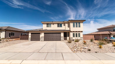 St George Single Family Home For Sale: 3739 E Shooting Star Ln