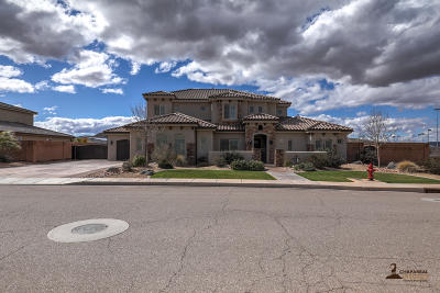St George UT Single Family Home For Sale: $685,000