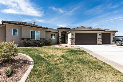 St George Single Family Home For Sale: 3026 E 2805 S Cir