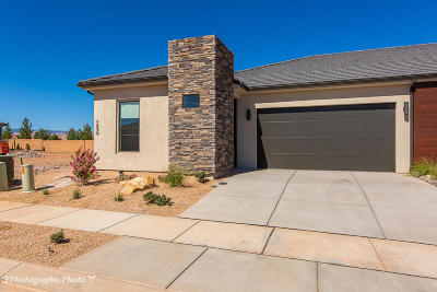 St George UT Single Family Home For Sale: $307,825
