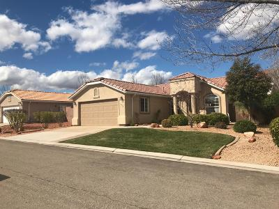 Ivins Single Family Home For Sale: 333 E 740 S