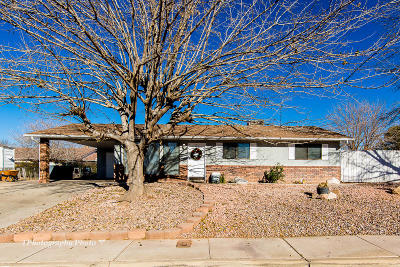 St George Single Family Home For Sale: 1342 W 710 N